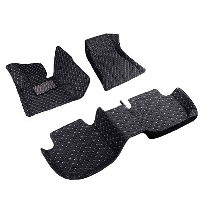 Tapis de sol de voiture tapis tapis de sol accessoires en cuir pour Mercedes W205 E W212 W213 S W221 W222 GLA GLK X204 GLC