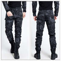 2017 New python skin MENS URBAN TACTICAL (UTP)SECURITY OPS CARGO TROUSERS 511ARMY male PANTS Spandex Warrior wear military pants