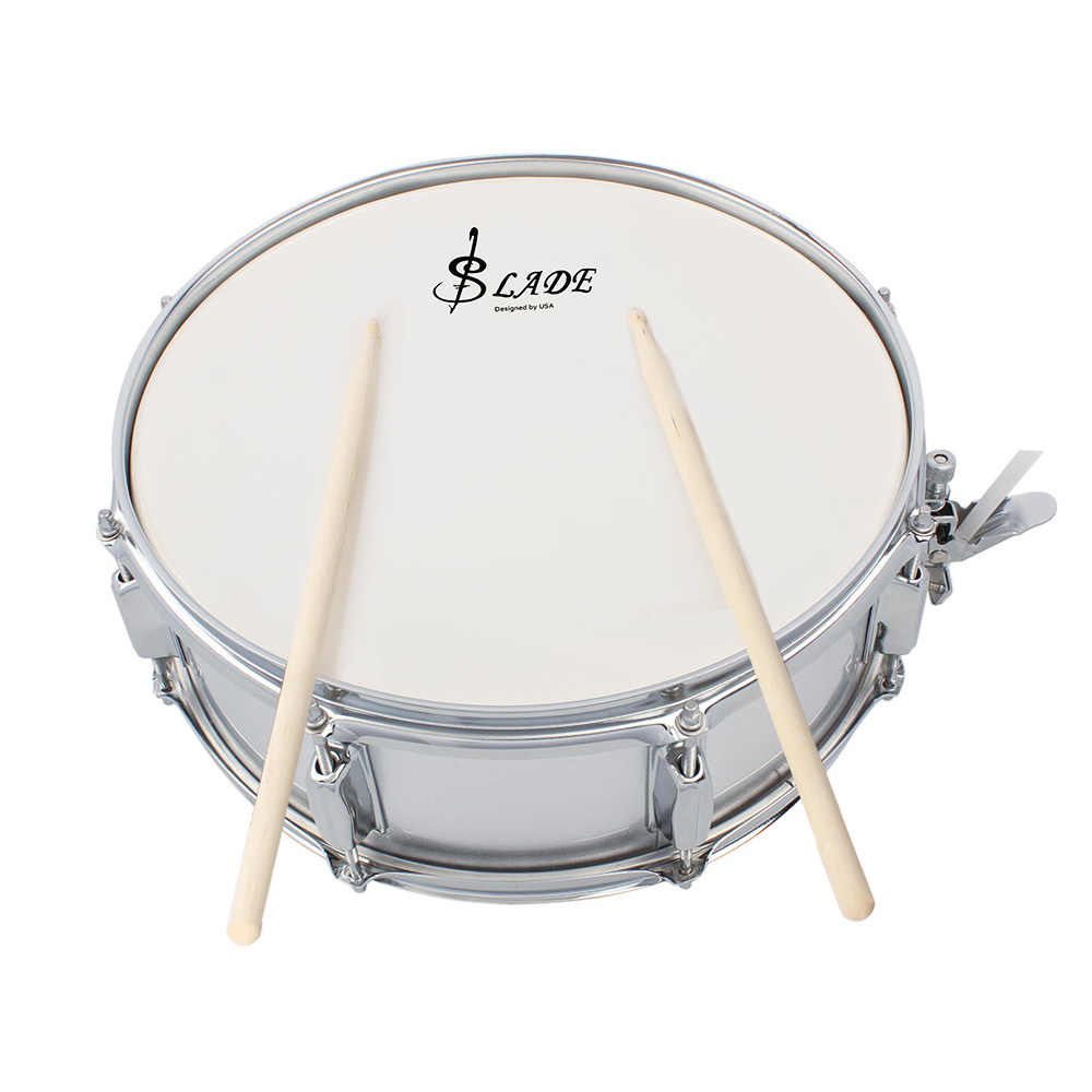 high quality professional snare drum head 14 inch with drumstick drum key strap for student band. Black Bedroom Furniture Sets. Home Design Ideas
