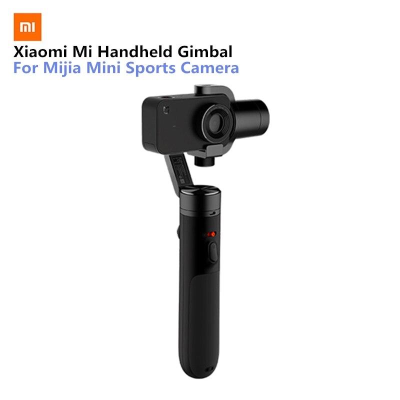 Xiao mi mi Handheld Gimbal Action Kamera 3 Achse Bürstenlosen Kardanisch für mi jia mi ni Sport Kamera VS Feiyu tech ZHI Yun