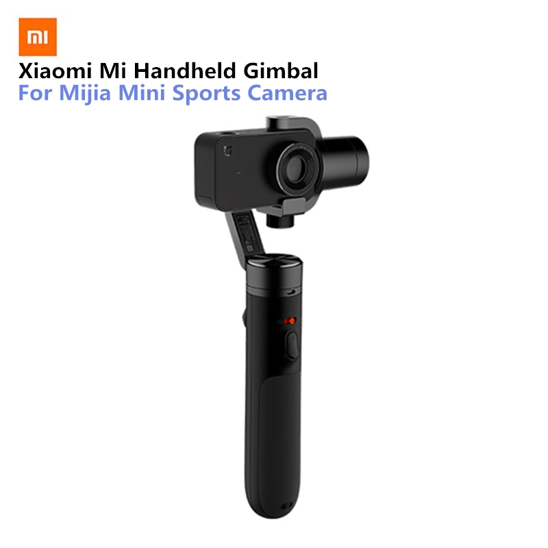 Xiaomi Mi Handheld Gimbal Action Camera 3 Axis Brushless Gimbals for Mijia Mini Sports Camera VS Feiyu Tech ZHI Yun цена