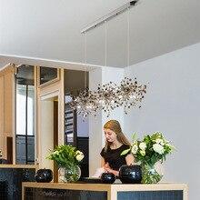 Ручной работы из нержавеющей стали лист подвесной светильник s для железа Hanglamp гостиная спальня домашний Декор Светильник