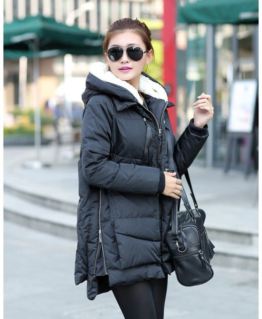 ac73463ede8e Women s Thickened Down Jacket-in Parkas from Women s Clothing on ...