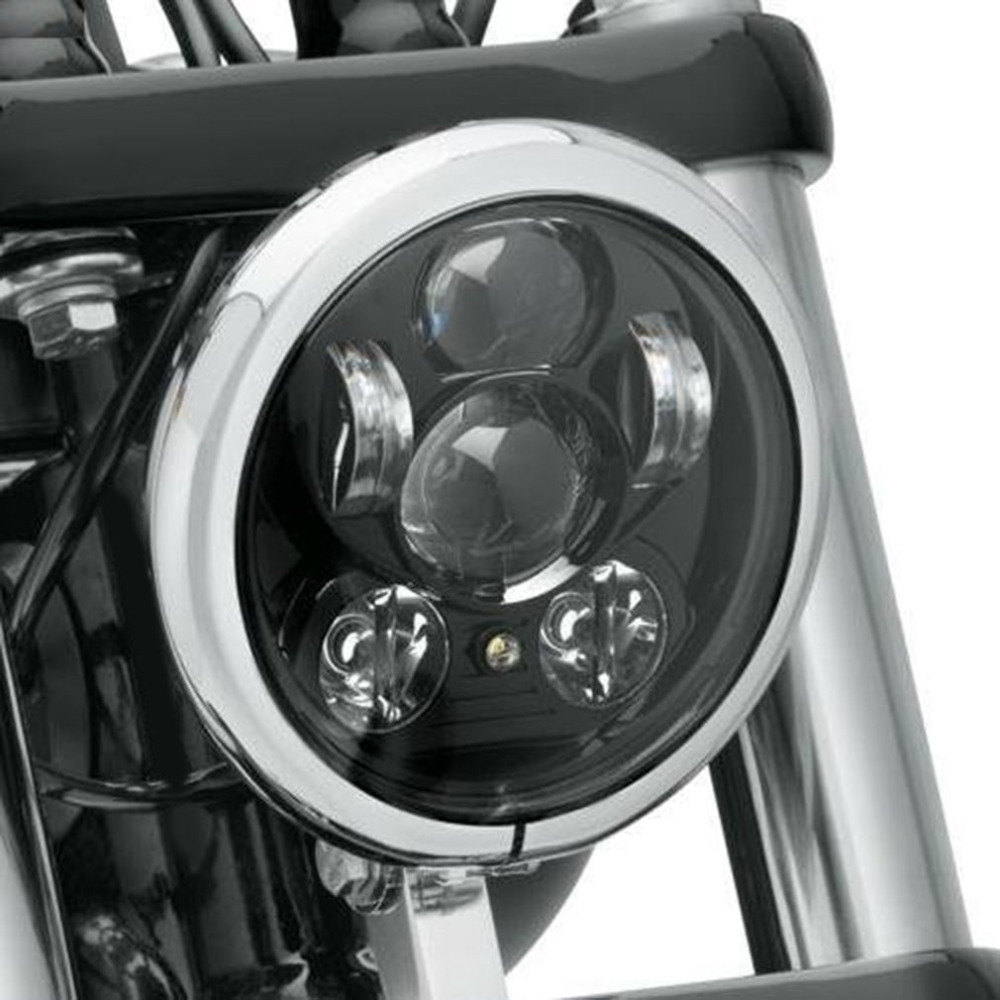 ICOCO 5.75 Projector LED Headlight 45W Motorcycle Headlamp Super Bright High-Low Beam Light For Harley For Davidson car led h4 headlight white 9004 9007 h13 headlamp hi lo beam automobile light source 60w 4400lm super bright plug