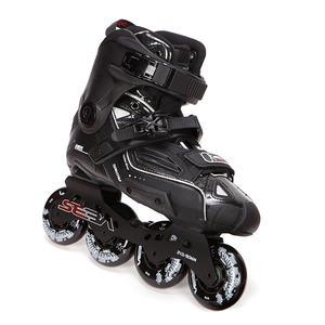 Image 4 - اليابانية سكيت 100% الأصلي سيبا عالية ديلوكس HD الكبار حذاء تزلج بعجلات الأسود الأسطوانة أحذية التزلج Slalom الشريحة FSK Patines الكبار