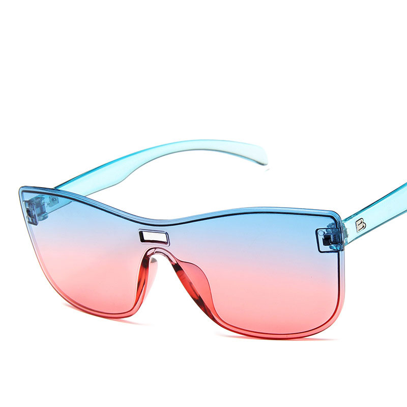 2019 Sexy Cat Eye Sunglasses Women Brand Designer  Sun Glasses Ladies  Lens Shades For Women Eyewear UV400 Rimless Plastic Adult