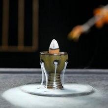 Благовония или горелка, креативный домашний декор, мини курильница с обратным потоком, курильница для благовоний