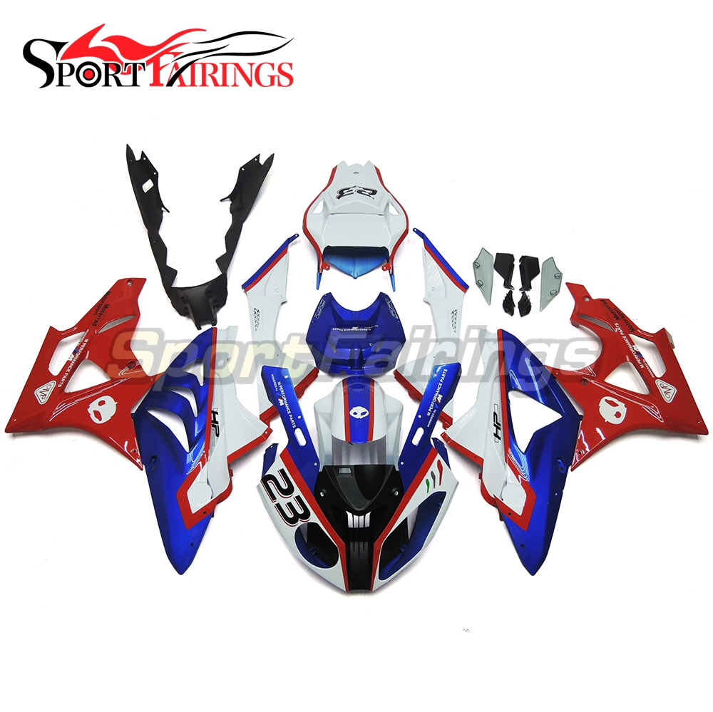 Complete Injection Fairings For BMW S1000RR 11-14 Year 2012 2013 2014 ABS Motorcycle Fairing Kit Cowling Red Blue White Carene image