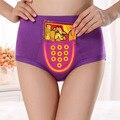 Free Shipping Menstrual period Bamboo fiber Women's underwear Long waisted side leakage proof pocket Health pants L-XXXL R1
