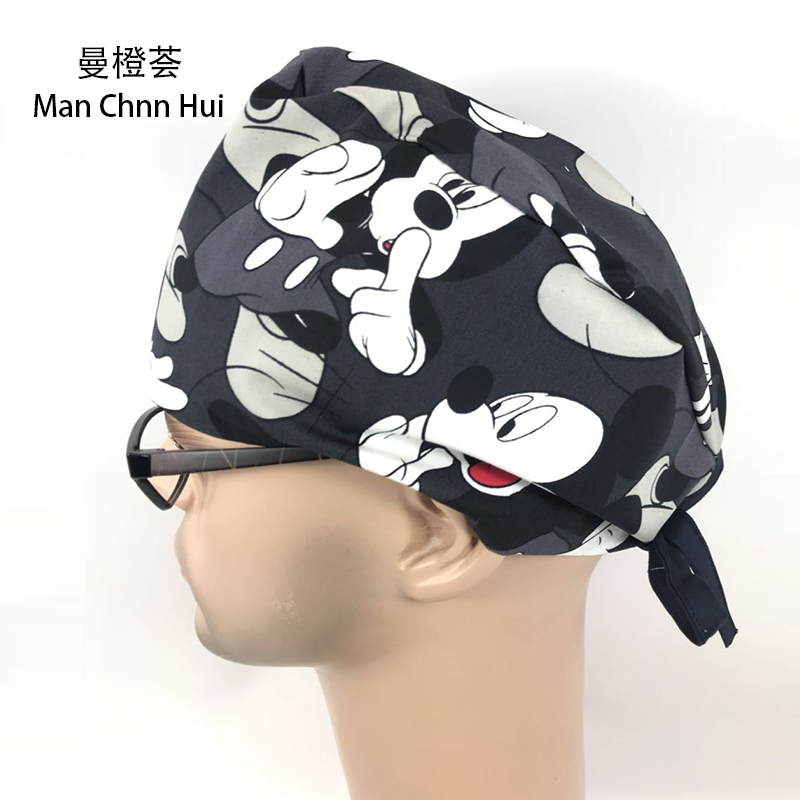 Surgical Caps For Men In Black IN Grey WITH Hearts MEDICAL CAPS Limited Edtion ,Medical Cap Avengers Style 2018