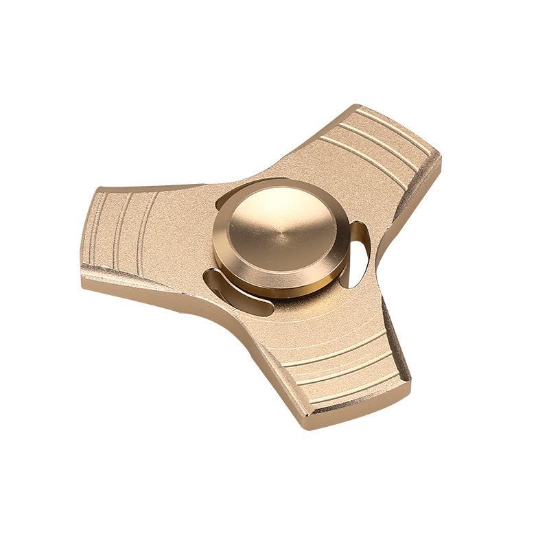 Metal Hand Spinner Fidget Spinner Desk Ball Focus Fingertip Reduce Stress ADHD EDC Finger Fidget Toys