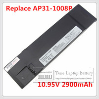 10 95V 2900mAh Replacement Laptop Battery 1008P For Asus Eee PC 1008KR 1008P 1008P KR EEE