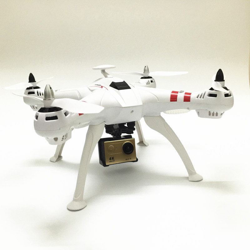 Bayangtoys X16 RC Quadcopter Brushless Grand GPS Drone FPV Drones Professionnels Peut Ajouter EKEN H9/H9R 4 K Caméra 1080 P 12MP Hélicoptère