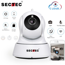 SECTEC 720P Cloud Storage IP Camera  Wireless WIFI cam Home Security Surveillance CCTV Network Camera Night Vision Baby Monitor