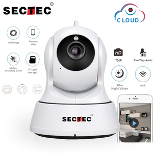 Image 1 - SECTEC 720P Cloud Storage IP Camera  Wireless WIFI cam Home Security Surveillance CCTV Network Camera Night Vision Baby Monitor