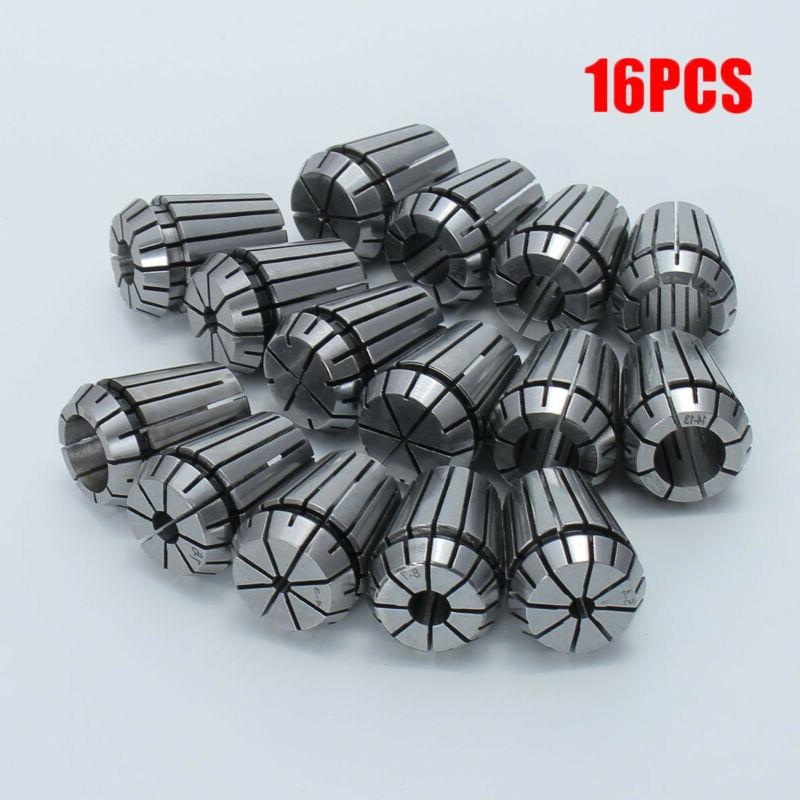 16Pcs Steel ER25 1-16MM Spring Collets Set For CNC Engraving Milling Lathe Tool16Pcs Steel ER25 1-16MM Spring Collets Set For CNC Engraving Milling Lathe Tool