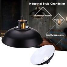 Industrial Iron Vintage Loft Ceiling Light Chandelier Pendant Lamp Fixture Decor e27 industrial retro vintage iron ceiling lamp pendant light chandelier fixture