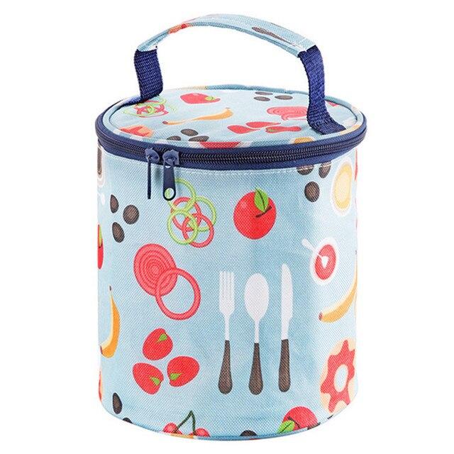 35c24fce240538 Insulated lunch box waterproof rice insulation large aluminum foil thick  lunch bag cartoon oxford women handbag