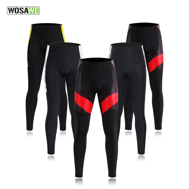 WOSAWE Cycling Set Bike Riding Outdoor Sportswear Long Sleeve Jacket Set Mountain Bicycle Clothing MTB 3D Gel Padded Pants