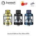Электронная сигарета Оригинал Joyetech Riftcore Duo 26 мм RTA бак распылитель 3,5 мл емкость RFC нагреватель самоочищающийся Vape испаритель