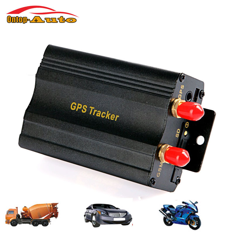 ФОТО 2016 New Arrival Car Electronics Trackers Mini Global Real Time Vehicle Auto GPS Tracker TK103A GSM GPRS Tracking Monitor System