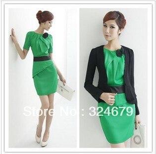 Aliexpress.com : Buy Fashion women's 2013 spring one piece dress ...