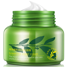 ROREC 50g Green Tea Essence Face Cream Moisturizing Nourishing Day Anti Aging Ageless Hydrating Lift Firming Facial