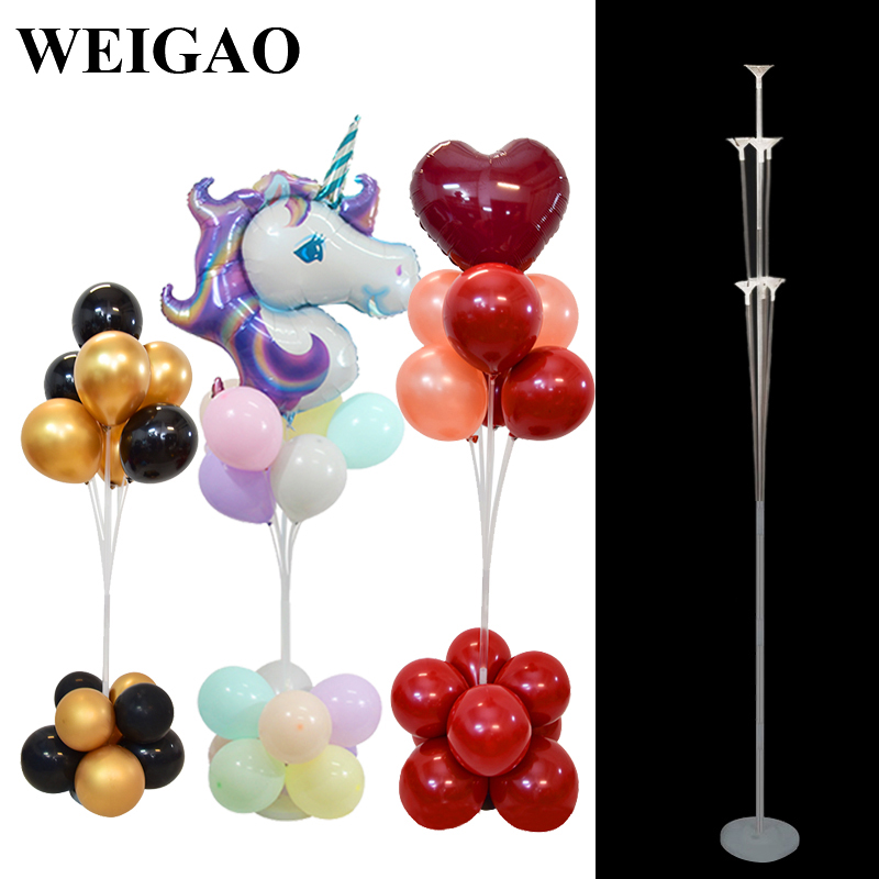 Weigao 7 Tubes Adjustable Balloons Column Stand Set -8018