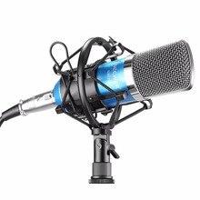 Neewer blue nw-700 profesional estudio de radiodifusión y conjunto micrófono de grabación de micrófono de condensador + montaje de choque + cable