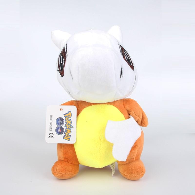 20 cm PokemonGo Cubone Peluş Oyuncak Cep Canavar Cubone Peluş Yumuşak Dolması Hayvanlar Oyuncaklar Bebek Brinquedos Çocuklar Çocuklar için Hediye
