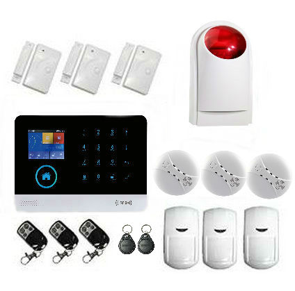Yobang Security Gsm Alarm Systems WIFI+GSM+GPRS Wifi Automation GSM Alarm System Home Protection GPRS WIFI GSM Alarm System купить в киеве gsm прослушку