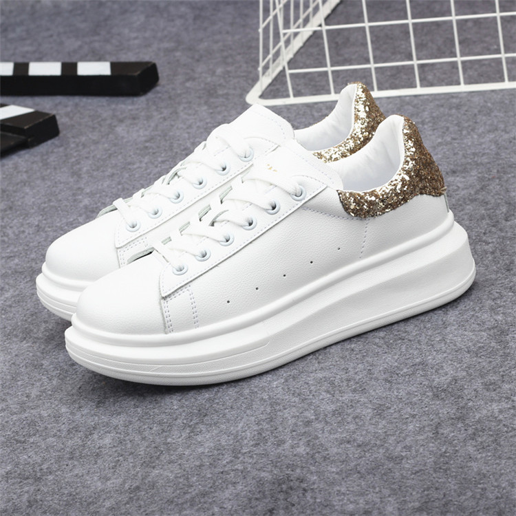 New Fashion Vulcanize Shoes Trainers Women Sneakers Casual Shoes Basket Femme PU Leather Tenis Feminino Zapatos Mujer Plataforma 60