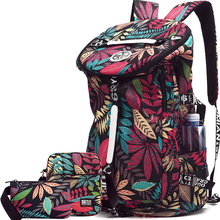 Купить с кэшбэком 36L travel weekend bag set foldable women travel bag canvas backpack large 15inch laptop student bags weekender men travel bags