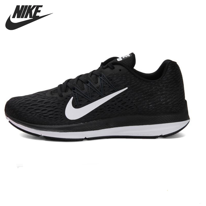 Original New Arrival 2018 NIKE ZOOM WINFLO 5 Men's Running Shoes Sneakers new arrival original nike breathable zoom winflo 3 men s running shoes sneakers trainers
