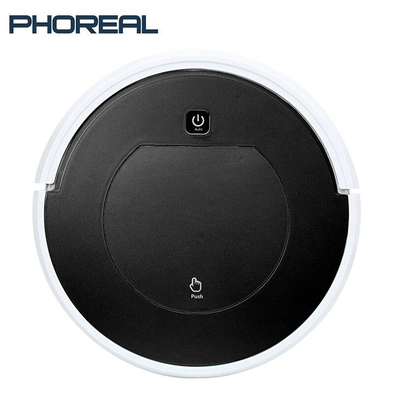 PhoReal FR 6 1000 pa Aspiration aspirateur robot aspirateur Sans Fil Rechargeable odkurzacz Maison mini nettoyeur de robot stofzuiger