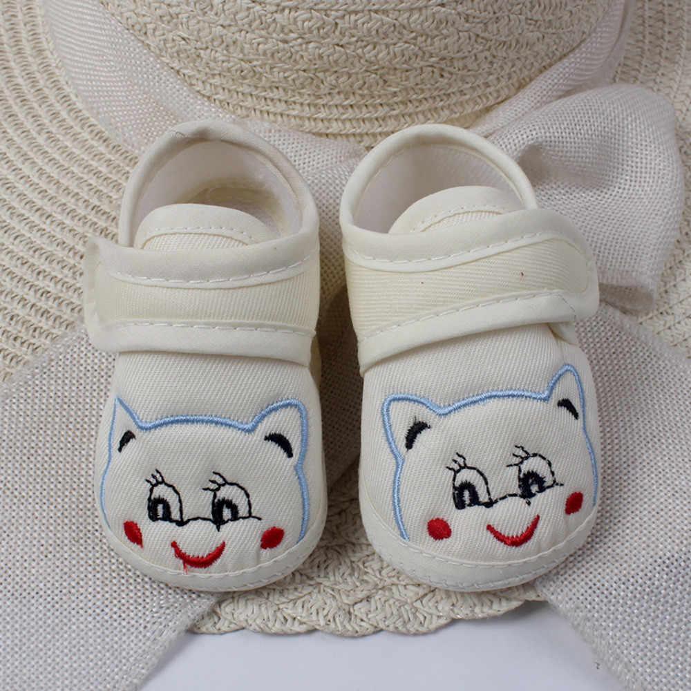 Newborn Baby Girl Boy Shoes Lovely Soft Sole Cartoon Anti-slip Casual Shoes Comfortable Toddler Shoes обувь для новорожденных