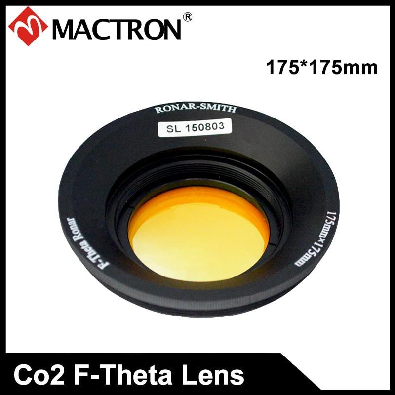 Singapour ronar-smith F Theta lentille de balayage pour laser CO2 --- 175*175mm F = 250mm