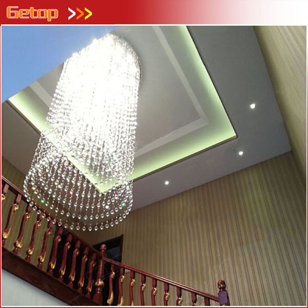 Best Price Modern Luxury K9 Crystal Chandeliers Villa Penthouse Living Room Staircase Crystal Lamp Project Lights Hotel Clubs best price modern led spherical k9 crystal lamp duplex stairs luxury villa round ball crystal pendant lights project lights