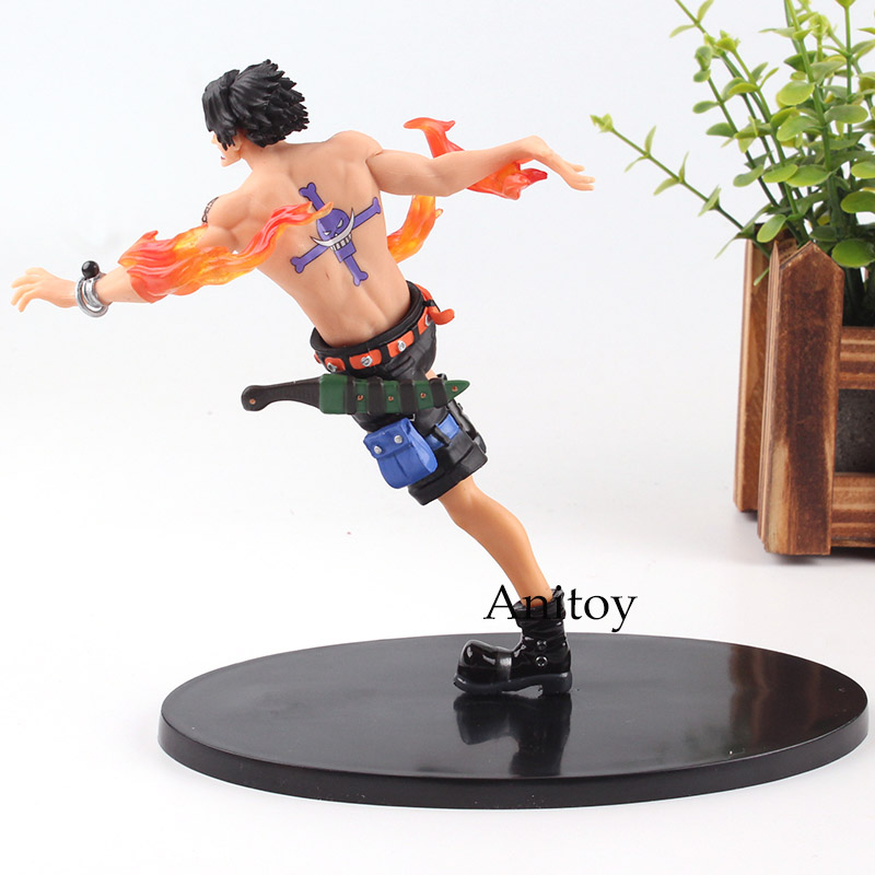 US $12 7 18% OFF|One Piece Figure One Piece Anime Portgas D  Ace Action  Figure Battle of Marineford Paramount War Toy 15cm -in Action & Toy Figures