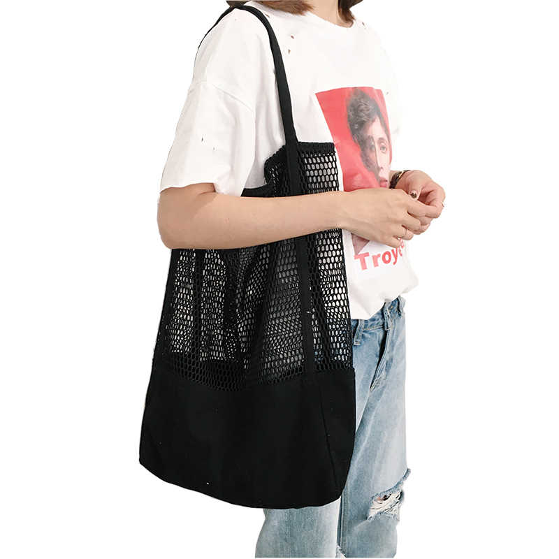 Frutta Shopping Bag Sacchetto di Immagazzinaggio ultra sacchetti della spesa riutilizzabili Tote della Tela di canapa Tessuto Netto Sacchetto Bolsa compra plegable