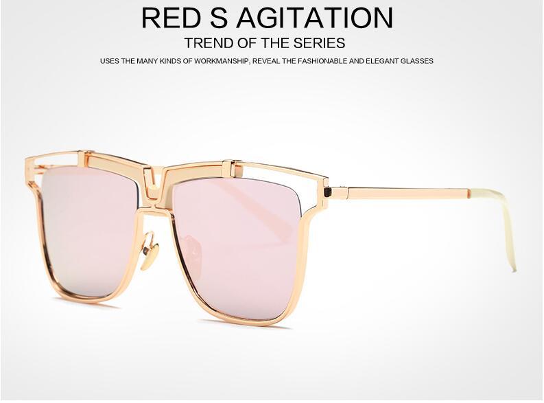 d0546efc1bea45 Fashion Square Lunettes De Soleil Hommes 2016 Steampunk lunettes de Soleil  Femmes De Luxe Marque Designer Vintage Lunettes de Soleil Oculos de sol