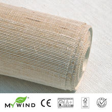 2019 MY WIND Grasscloth Wallpaper sisal 3D wallpapers designs european vintage bedroom decorative wallpaper for baby