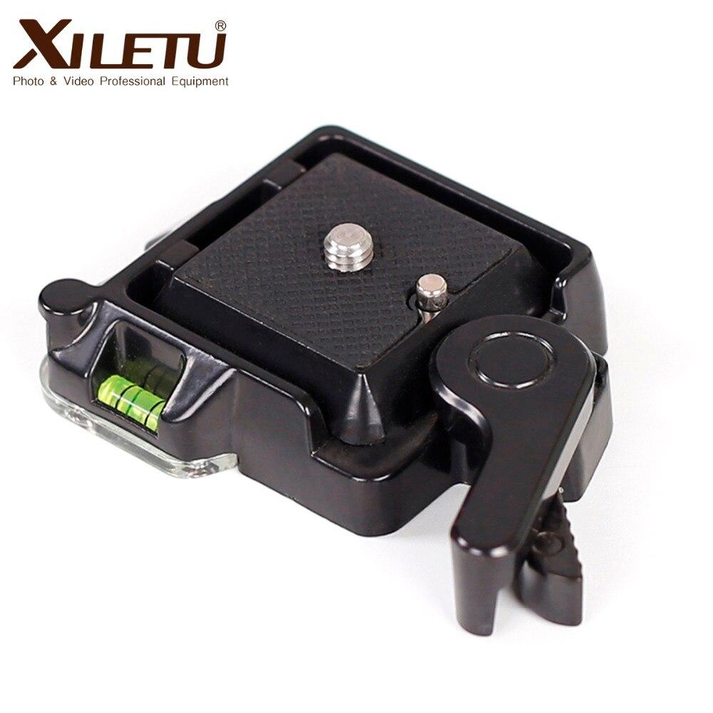 XILETU QR-40 Montage Clamp Adapter Spann plattform Halterung Und Quick Release Platte Für Arca Swiss Manfrotto Gitzo RRS