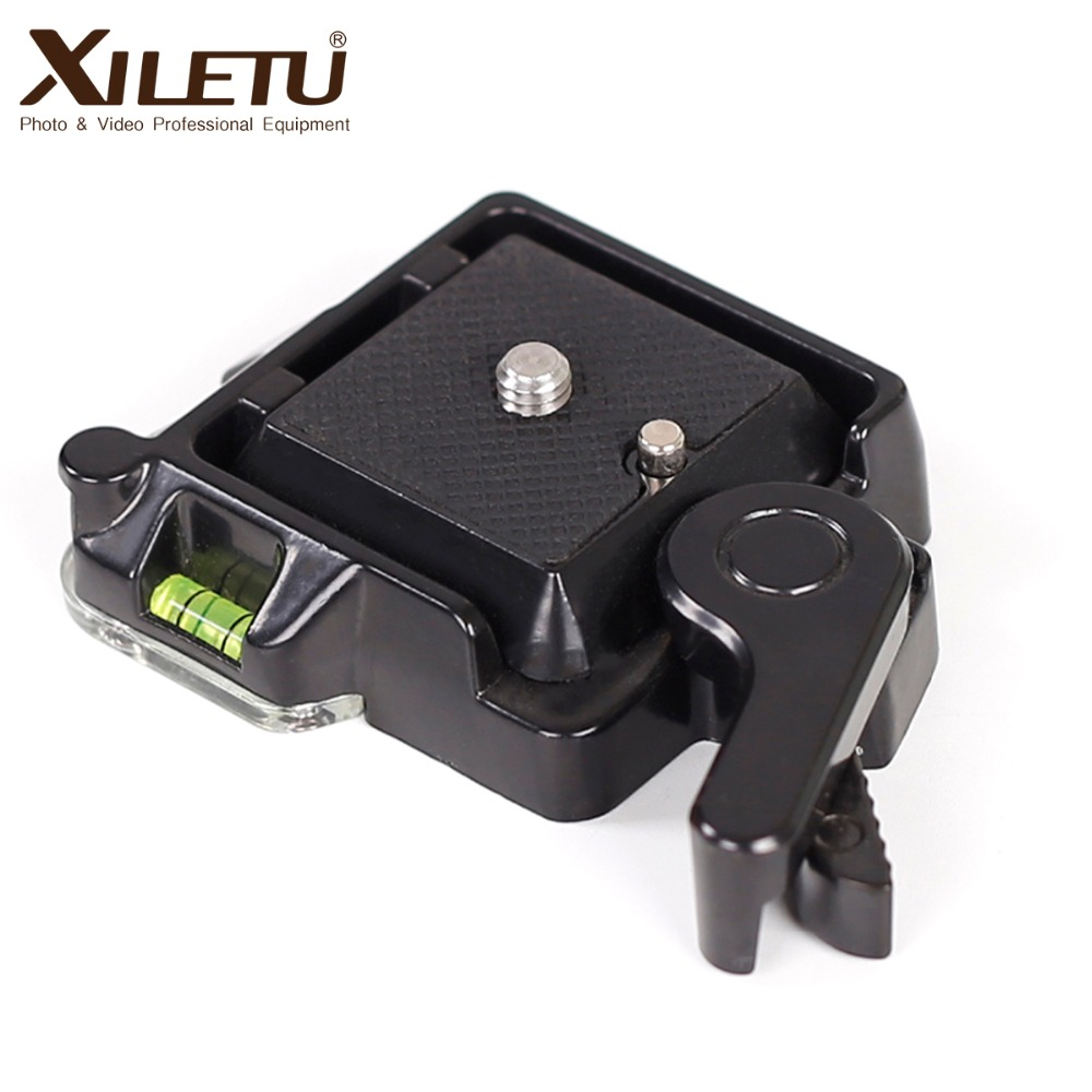 XILETU QR-40 Mounting Clamp Adapter Clamping platform Bracket And Quick Release Plate For Arca Swiss Manfrotto Gitzo RRS