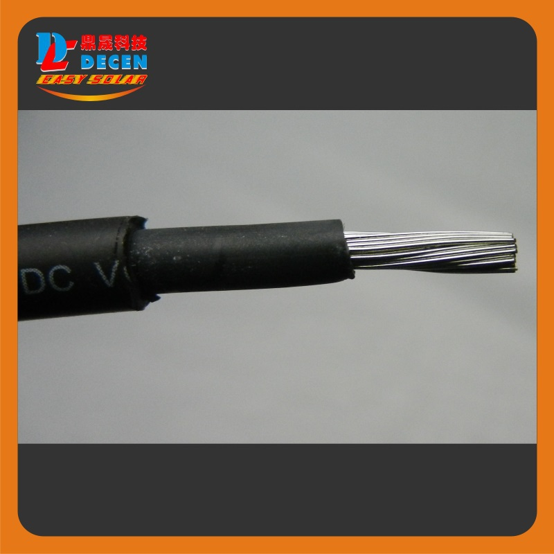 MAYLAR@ 6mm(10awg) Solar Cable PV Cabel With TUV Approval 50m/roll Safe,Reliable Solution For PV Panels Connection