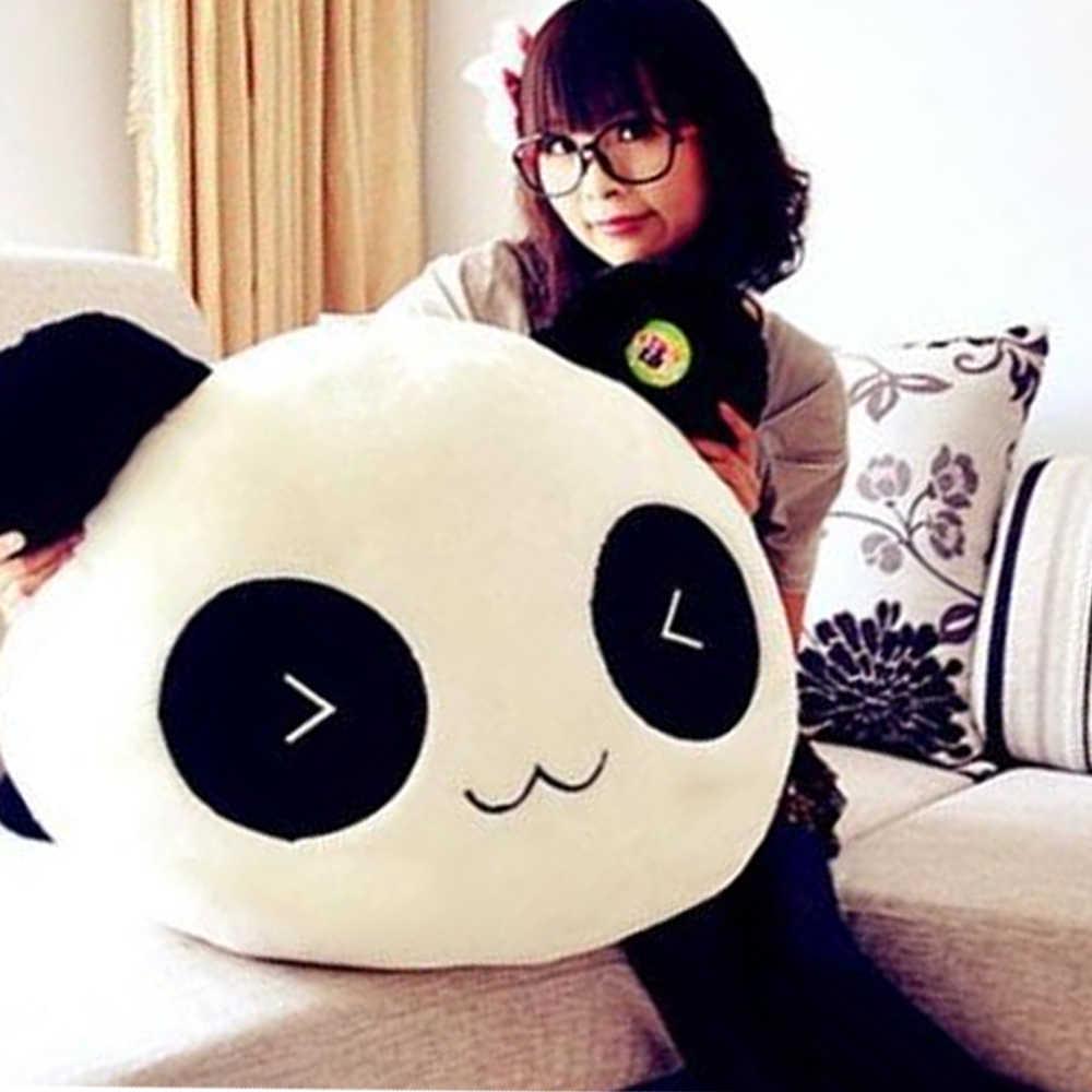 25 см Kawaii большая голова Мультяшные плюшевые игрушки мягкие лежа животное игрушечная панда Подушка диванная подушка подарок детские домашние декорации