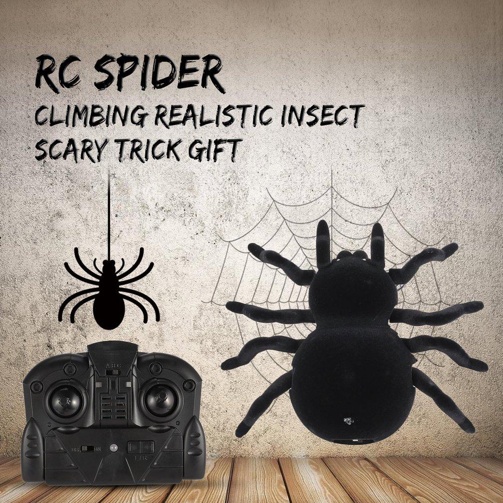 aranha rc brincadeira inseto piada truque assustador