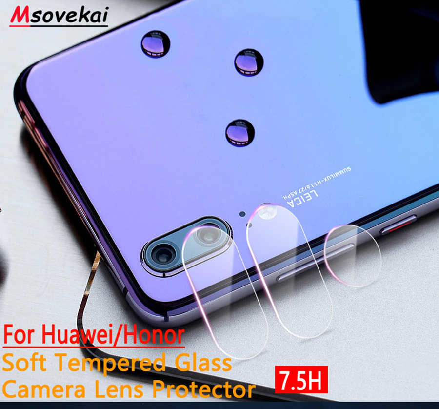 Back Camera Lens Tempered Glass For Huawei Honor 10 9 Lite View9 V10 7C 7X P Smart+ Plus Mate9 lite Pro Y9 2018 Screen Protector