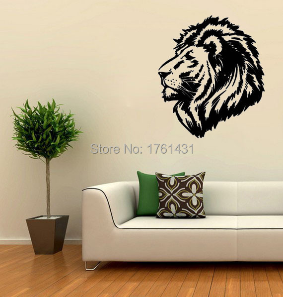 Online Shop Lion King Wall Size Animal Decal Wall Decals Vinyl - Lion king nursery wall decals