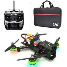 Zangão com câmera quadrocopter qav zmr 220mm + at9 radiolink 2.4g controle remoto 1000tvl ts5828 fpv 5.8g 32ch 600 mw quadcopter